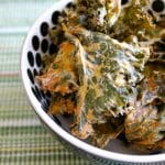 Vegan Sour Cream and Onion Kale Chips