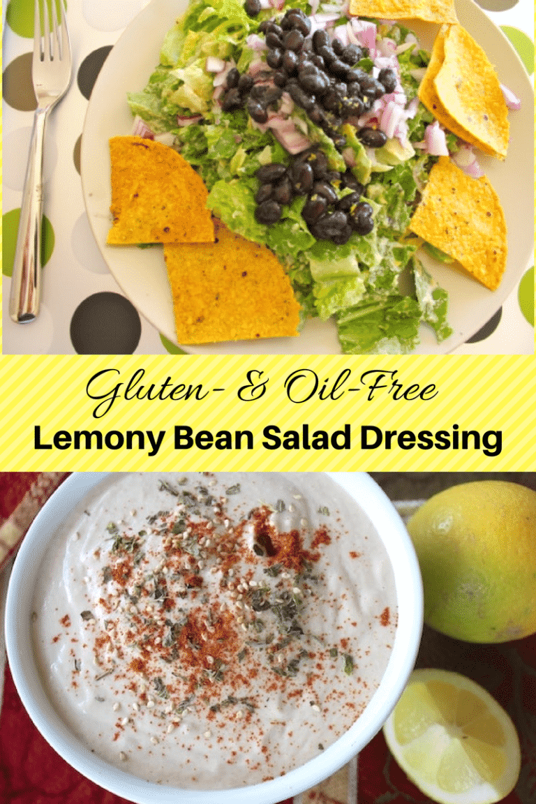 Gluten-Free Lemony Bean Salad Dressing