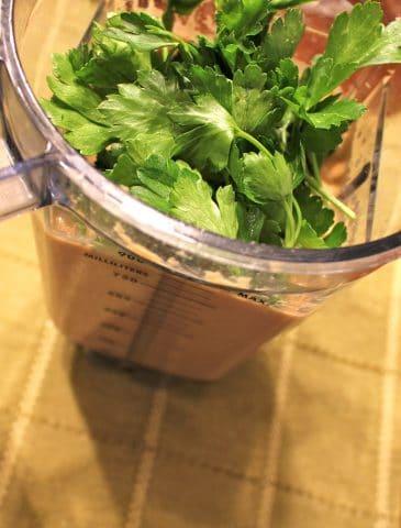 Savory Falafel Salad Dressing