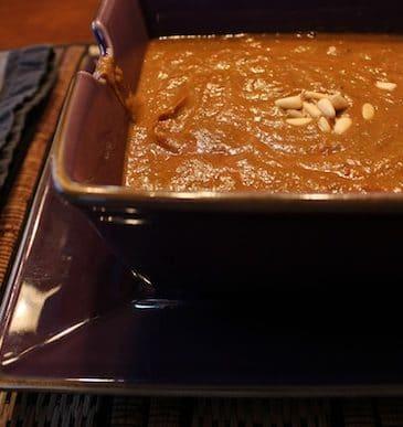Beet-Based Blended Soup