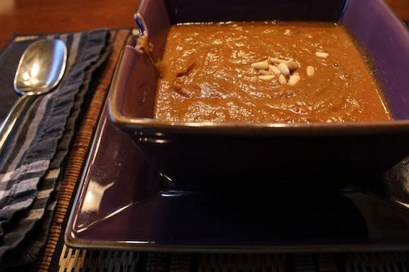 Beet-Based Blended Soup recipe