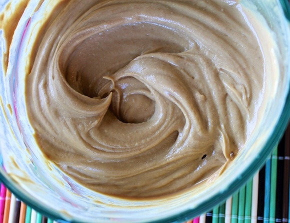 Dairy-Free Peanut Butter Soft Serve