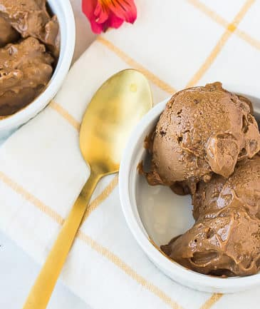 vegan chocolate peanut butter banana ice cream-5