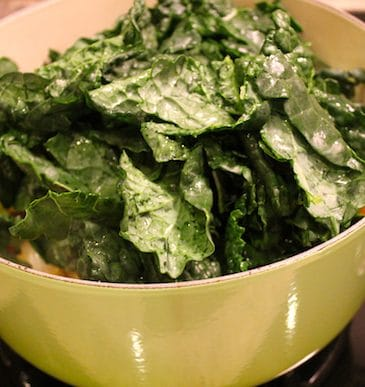 Coco-Nutty Kale 'n' Beans