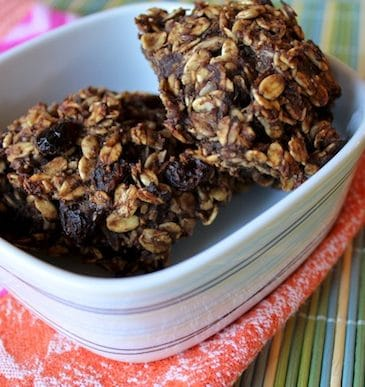 Cranberry-Oat Cookies that are gluten-free with no added sugars.