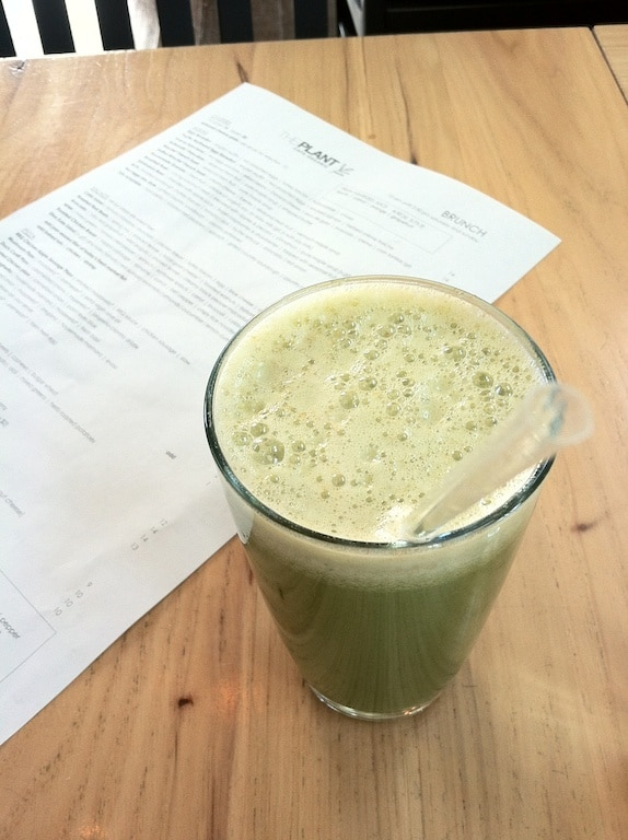 Celery Zinger Juice from Carrie on Living | www.cleaneatingkitchen.com