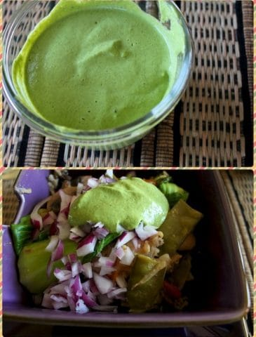 Pesto Hemp Dressing & My Pressure Cooker Battle