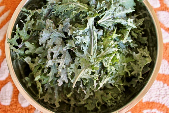 Cheezy Kale Salad