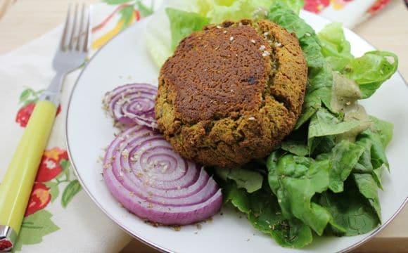 Ultimate Tofu Burger recipe that is vegan and oil-free