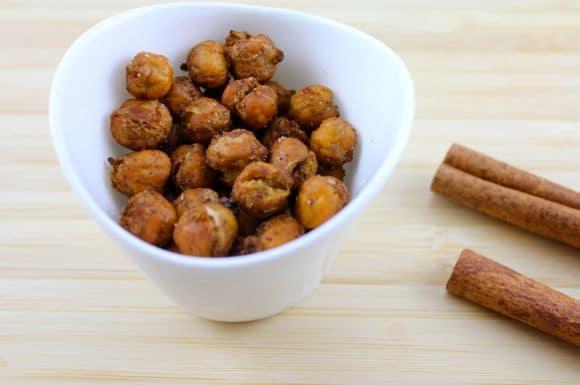 Chickpea Cinnamon Crispies