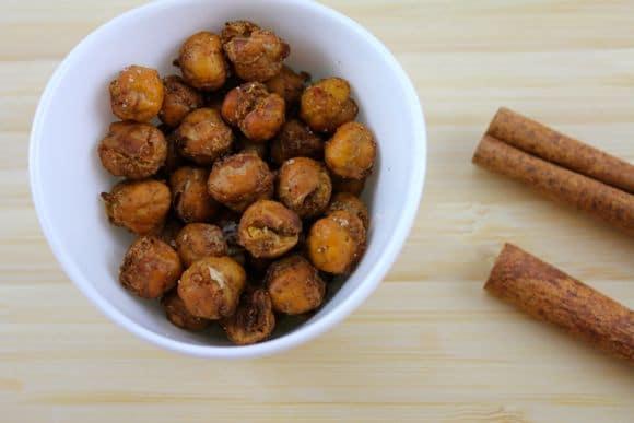 Cinnamon Chickpea Crispies for a delicious treat