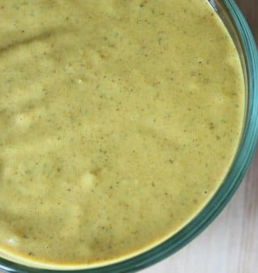 Dairy-Free Peanut Butter Satay Sauce