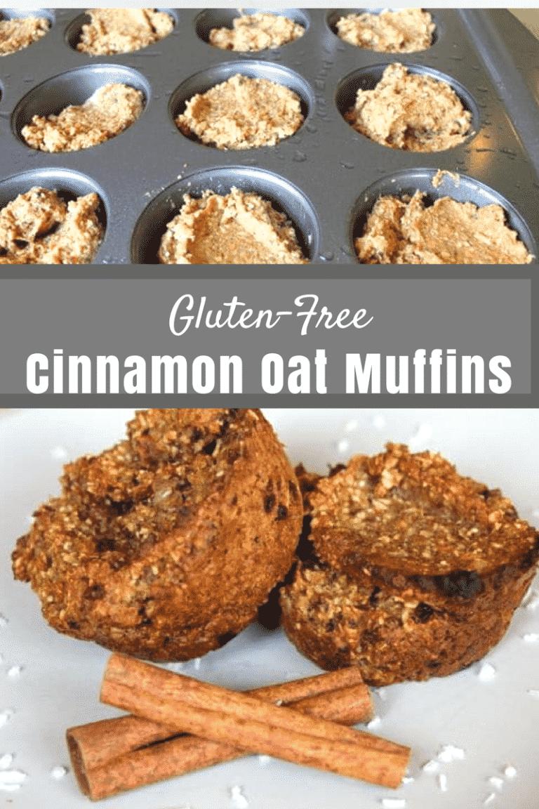 Gluten-Free Cinnamon Oat Muffins