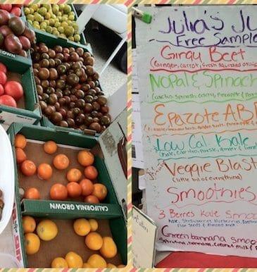 Farmers' Market Shopping & My Vegan Food Journal