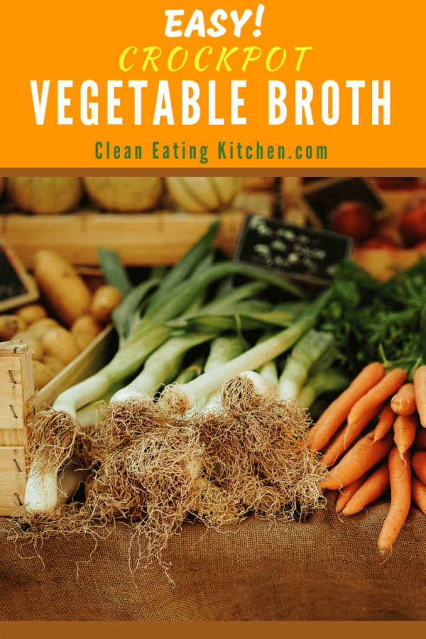 Crockpot Vegetable Broth