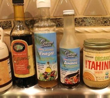 Almond-Tahini Stir-Fry Sauce & Notes From Dr. Fuhrman's Immersion