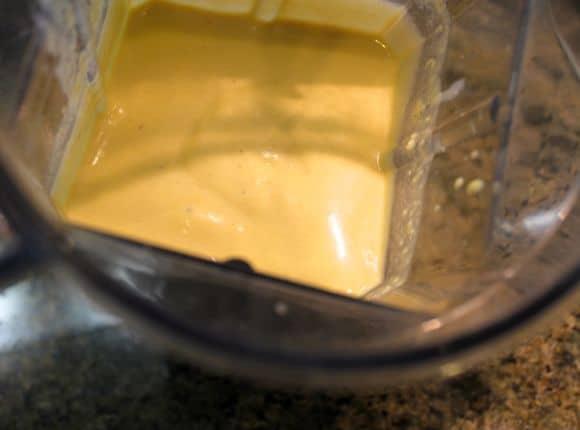 Saffron Cream Sauce.