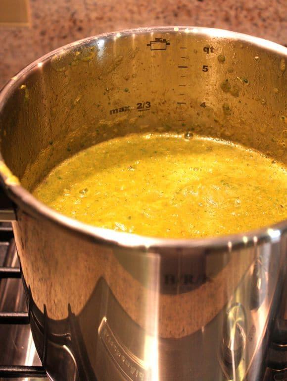 Blended stew.