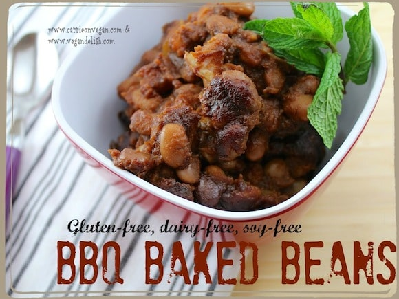 BBQ Baked Beans from Carrie on Vegan | www.carrieonvegan.com