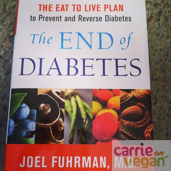 The End of Diabetes book cover by Dr. Fuhrman.