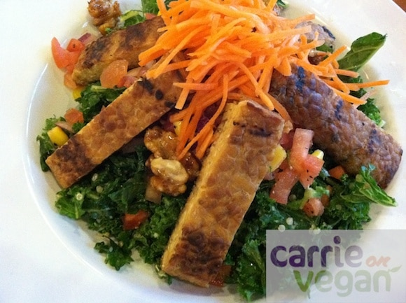 All Hail Kale Salad from the Veggie Grill