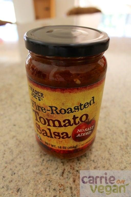 No-salt salsa from Trader Joe's