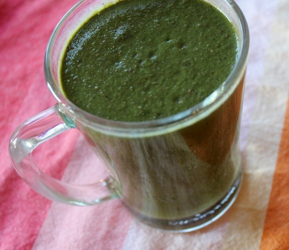 Now that is a green smoothie.