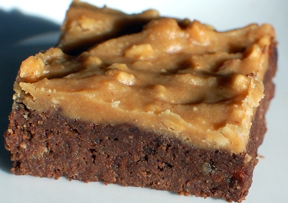 Quinoa Brownies with Peanut Butter Frosting from RI Housecalls