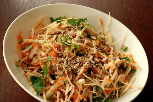 Crunchy Cabbage Salad from The Taste Space
