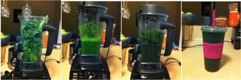 Green Smoothies from My Healthy Chef