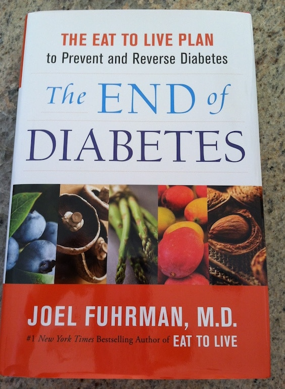 Dr. Fuhrman's End of Diabetes book cover.