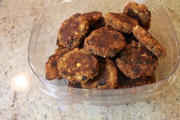 Chickpea cookie failure.