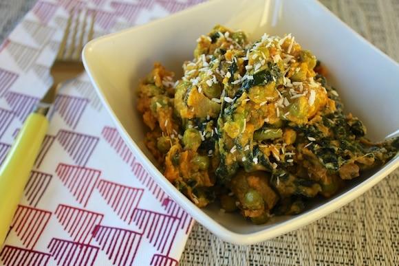 Kale & Spring Pea Mashup