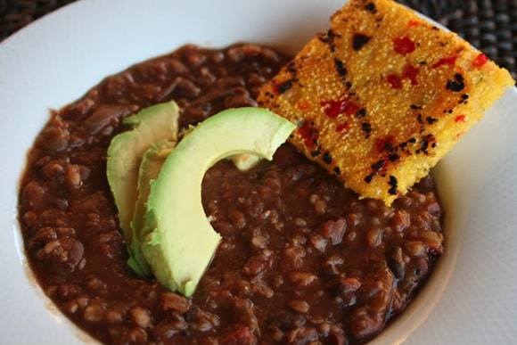 Slow Cooker Black Bean Soup from Will Work for Eskimo Kisses