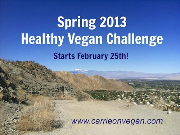 Spring 2013 Healthy Vegan Challenge photo