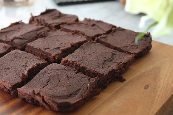 Fudgy Sweet Potato Brownies from Davida @ The Healthy Maven