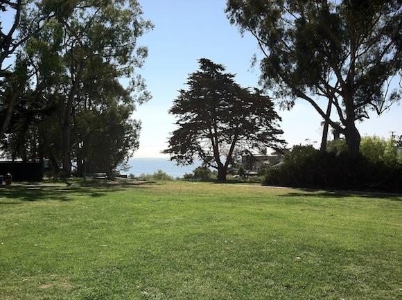 Santa Barbara park view.