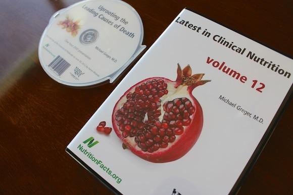 Dr. Greger DVD giveaway