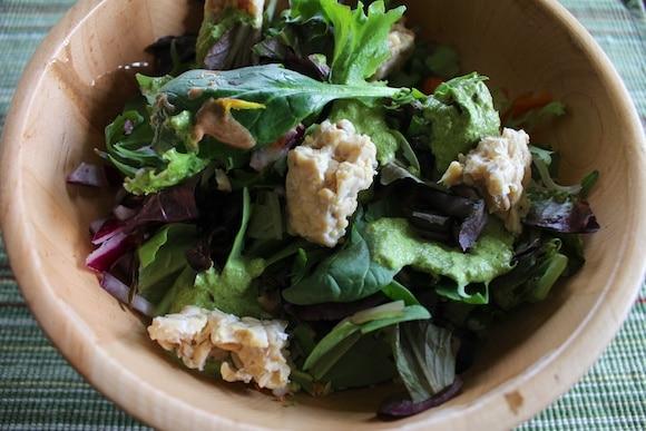 Lunch salad.