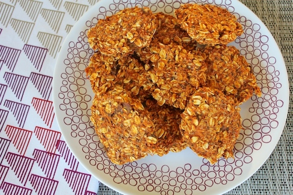 Sweet Potato Cookies from Carrie on Living | www.cleaneatingkitchen.com