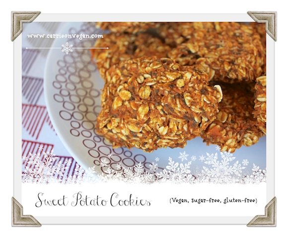 Sweet Potato Cookies from Carrie on Vegan   www.carrieonvegan.com