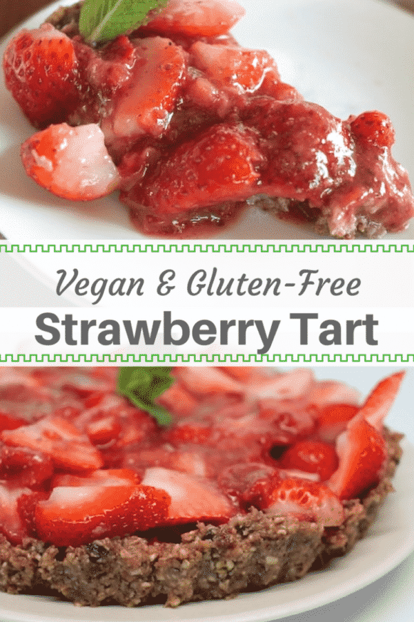 How To Make Raw Strawberry Tart