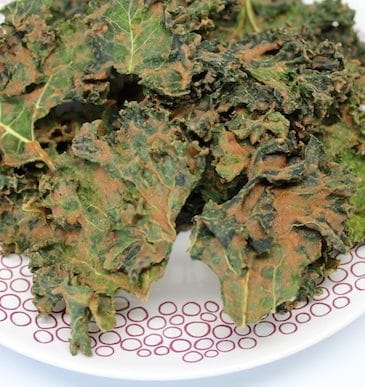 Apple Pie Kale Chips