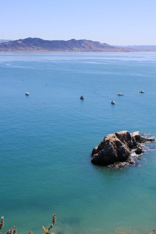 Avila Bay and Whaler's Rock.