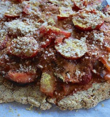 Cauliflower Pizza Crust (Grain-free & Gluten-free)