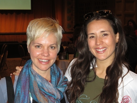 Carrie and Whitney from Eco-Vegan Gal
