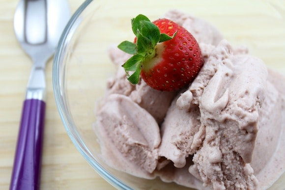 Strawberry & Vanilla Bean Ice Cream