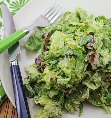 Vegan Caesar Salad Dressing