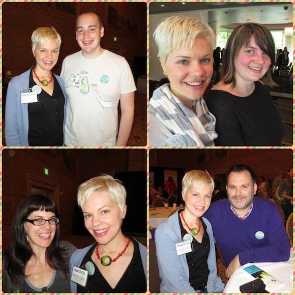 Friends made at Vida Vegan Con.