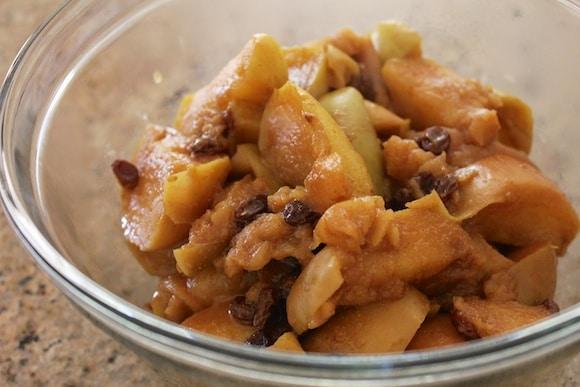 Apple pie filling.